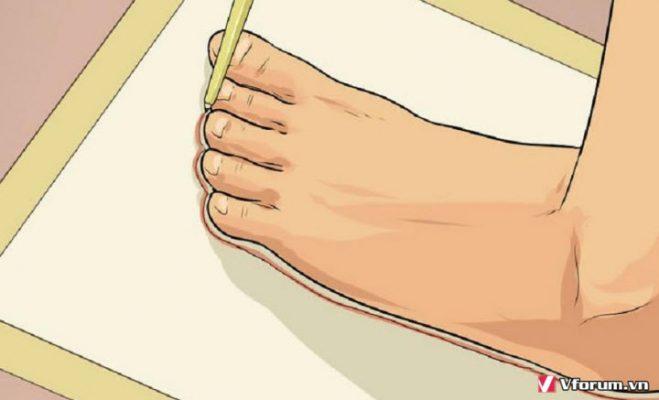 Cách đo cỡ chân size giày Việt Nam chuẩn với Mỹ US, UK các hãng giahuynhphat.com