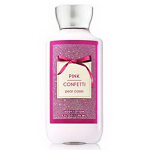 Sữa dưỡng thể Body lotion Bath Body Works Pink Confetti Pear Cassis của mỹ