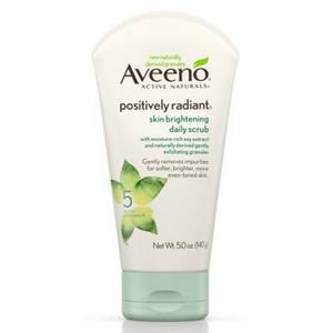 Sữa rửa mặt sáng da Aveeno Positively Radiant chiết xuất từ đậu nành chính hãng giahuynhphat.com