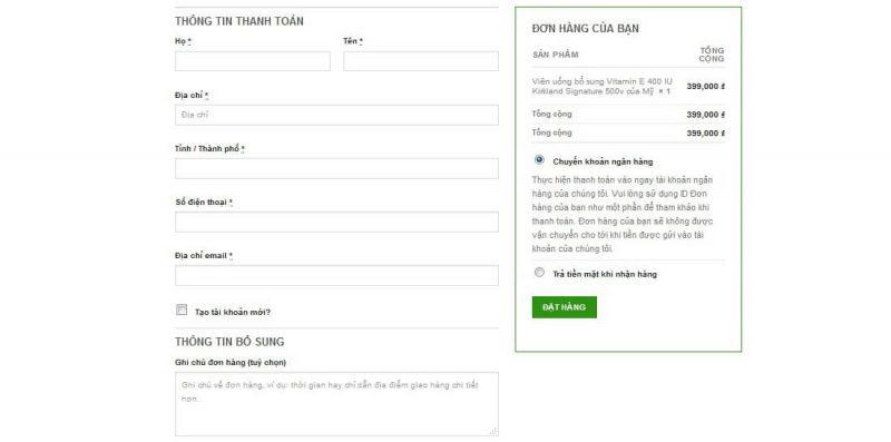 hướng dẫn mua hàng thông tin thanh toán giahuynhphat.com