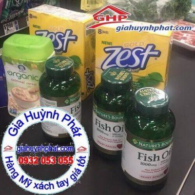 Dầu cá fish oil mua tại Mỹ giahuynhphat.com