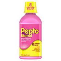 Siro hỗ trợ điều trị đau bao tử Pepto Bismol 473ml chính hãng của Mỹ