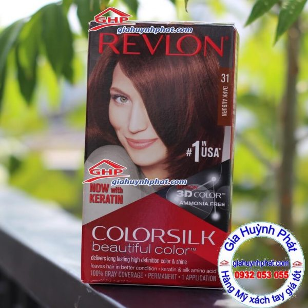 Thuốc nhuộm tóc Revlon colorsilk 31 giahuynhphat.com