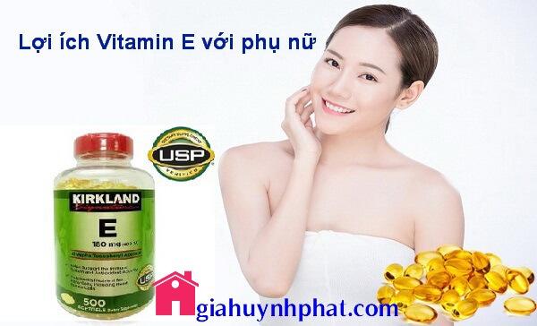 Công dụng và lợi ích của Vitamin E với phụ nữ