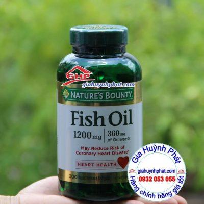 Dầu cá hỗ trợ tim mạch sáng mắt hàng mỹ xách tay giahuynhphat.com