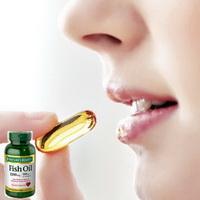 sử dụng Dầu cá hỗ trợ tim mạch Fish Oil Omega 3 Nature Bounty 200v của Mỹ
