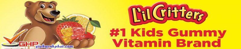kẹo dẽo hình gấu mỹ gummyvites chính hãng giahuynhphat.com