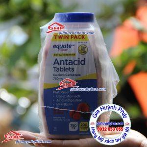 Kẹo ngậm Equate trị bao tử hàng Mỹ xách tay giahuynhphat.com