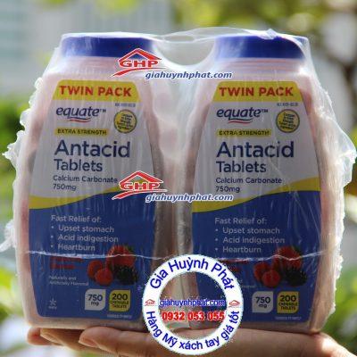 Kẹo Equate hương trái cây trị đau bao tử hàng Mỹ xách tay giahuynhphat.com