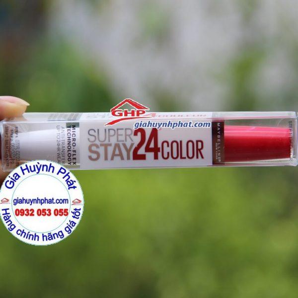 Son kem màu đỏ Maybelline #205 giahuynhphat.com