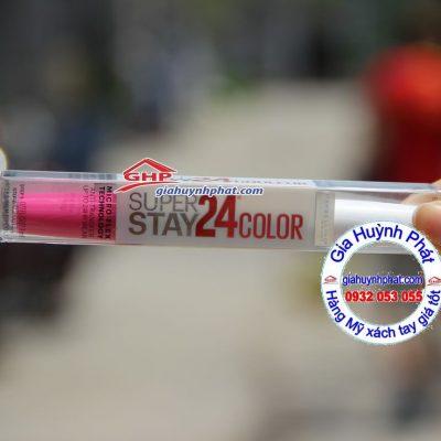 Son kem lì Maybelline 24-color #215 hàng Mỹ xách tay giahuynhphat.com