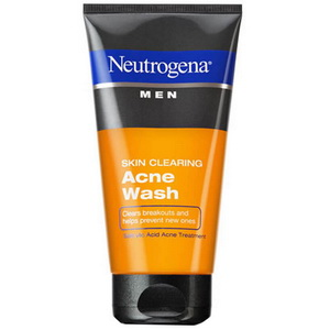 Sữa rửa mặt cho nam dạng gel ngừa mụn trứng cá Neutrogena Men Mỹ
