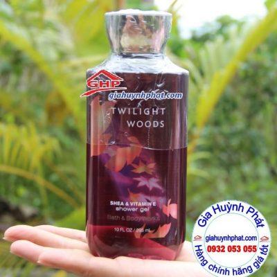 Gel tắm dưỡng da Twilight Woods Bath Body Works hàng mỹ xách tay giahuynhphat.com