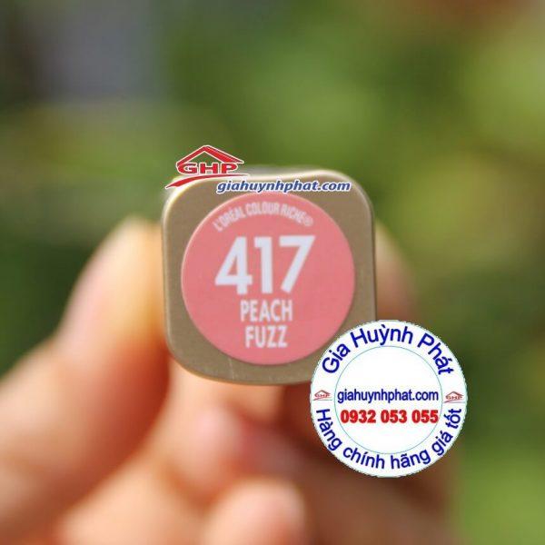 Thỏi son môi Loreal #417 hàng Mỹ xách tay giahuynhphat.com