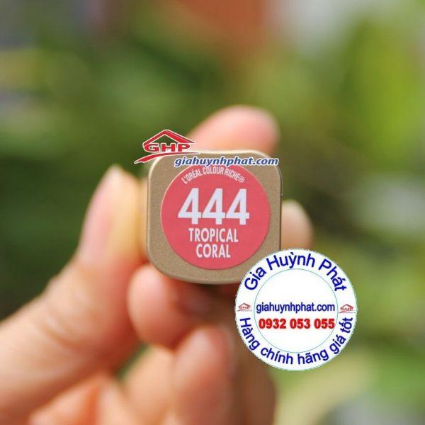Thỏi son Loreal #444 hàng mỹ xách tay www.giahuynhphat.com
