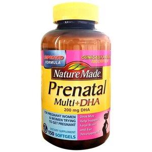 Thực phẩm chức năng Nature Made Prenatal Multi + DHA cho bà bầu của Mỹ