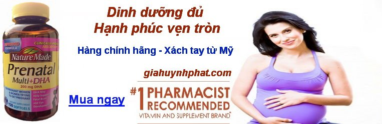 thuốc bổ bà bầu Nature Made chính hãng giahuynhphat.com