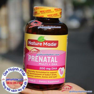 Thuốc bổ cho phụ nữ mang thai Prenatal hàng Mỹ xách tay giahuynhphat.com