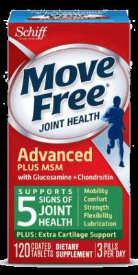 Thuốc bổ xương khớp Move Free Advanced Plus MSM with Glucosamine chính hãng