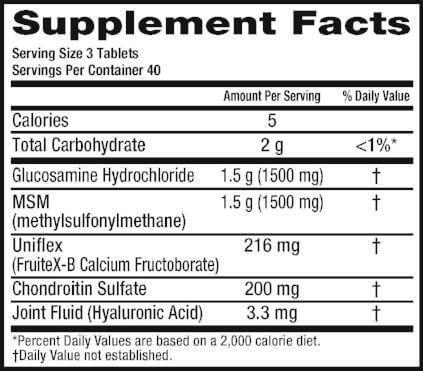 Thuốc bổ xương khớp Move Free Advanced Plus MSM with Glucosamine có tốt không