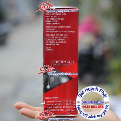 Thuốc nhuộm tóc Revlon colorsilk 49 Made in USA giahuynhphat.com