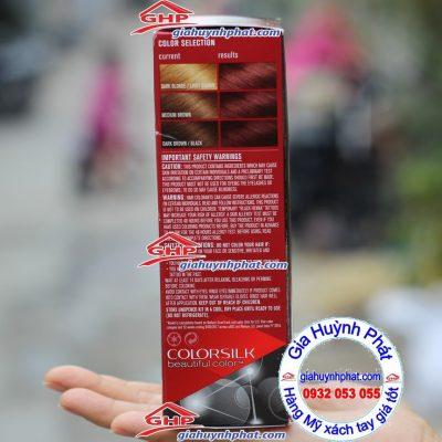 Màu tóc trước và sau khi nhuộm Revlon 49 hàng Mỹ xách tay giahuynhphat.com