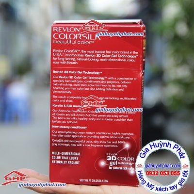 Thuốc nhuộm tóc Revlon #11 Softblack hàng Mỹ xách tay giahuynhphat.com
