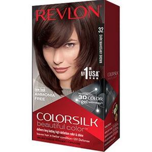 Thuốc nhuộm dưỡng tóc Revlon Colorsilk 32 chính hãng màu nâu gỗ