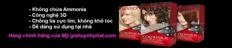 Thuốc nhuộm dưỡng tóc Revlon Colorsilk chính hãng