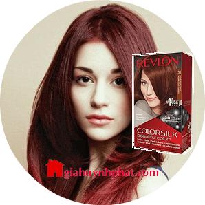 Thuốc nhuộm tóc của Mỹ Revlon 3D Colorsilk 31 Dark Auburn giá tốt