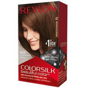 Thuốc nhuộm tóc màu nâu Revlon ColorSilk Medium Rich Brown