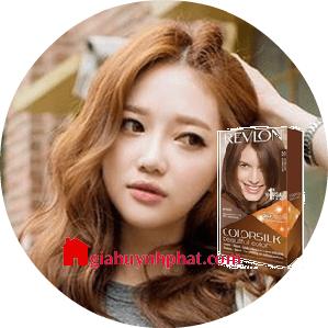 Thuốc nhuộm tóc màu nâu sáng Revelon 3D Colorsilk 51 Light Brown của mỹ