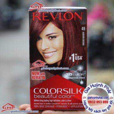 Thuốc nhuộm tóc revlon 49 hàng Mỹ xách tay giahuynhphat.com