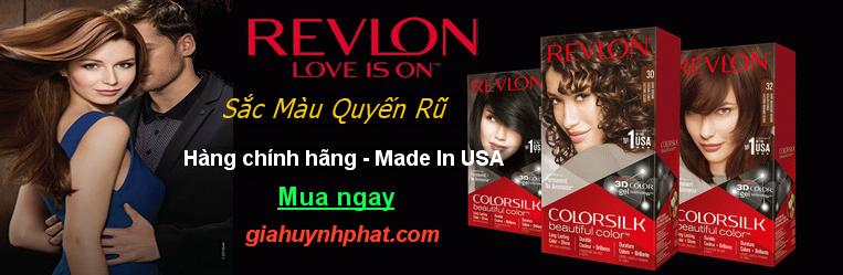 thuốc nhuộm tóc revlon chính hãng made in usa giahuynhphat.com
