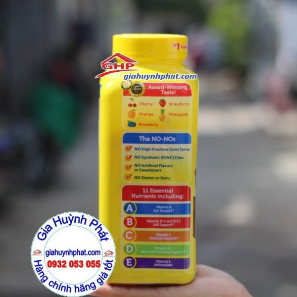 Kẹo gấu L'il-critter bổ sung các dưỡng chất thiết yếu cho bé hàng Mỹ xách tay giahuynhphat.com