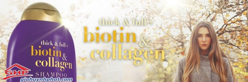 dầu gội biotin chính hãng ogx của mỹ 385ml loại tốt giahuynhphat.com