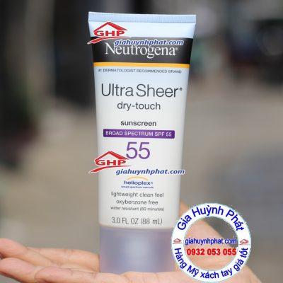 Kem chống nắng Neutrogena 88ml hàng Mỹ xách ta