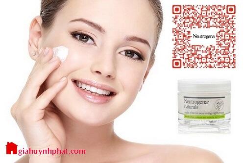 Kem dưỡng ẩm da mặt ban đêm Neutrogena Naturals Multi-Vitamin giahuynhphat.com 4