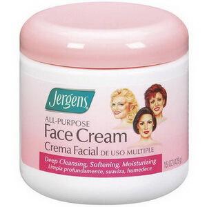 Kem dưỡng ẩm da mặt khô Jergens All-Purpose Face Cream ban đêm
