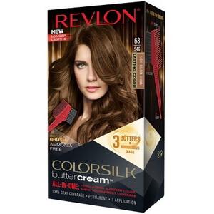 Kem nhuộm tóc cao cấp Revlon Luxurious ColorSilk Buttercream #63