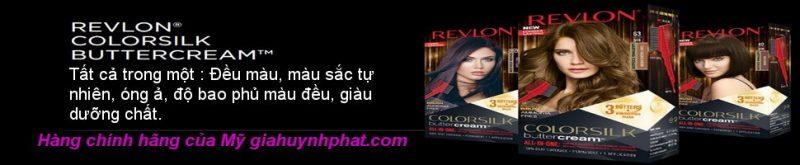 Kem nhuộm tóc cao cấp Revlon Luxurious ColorSilk Buttercream giahuynhphat.com