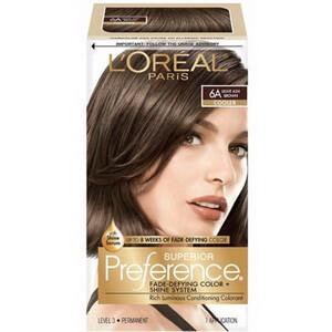 Kem nhuộm tóc cao cấp lâu phai Loreal Superior Preference 6A Cooler