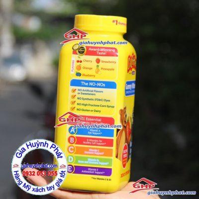 Kẹo gấu hương trái cây gummy vites hàng Mỹ xách tay giahuynhphat.com