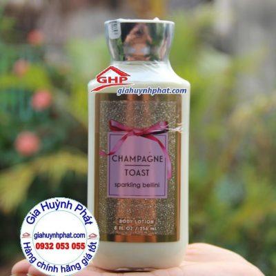 Sữa dưỡng thể Champagne Toas hàng Mỹ xách tay giahuynhphat.com