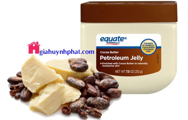 Sáp dưỡng Equate Cocoa Butter Petroleum Jelly hàng Mỹ đa công dụng giahuynhphat.com 6