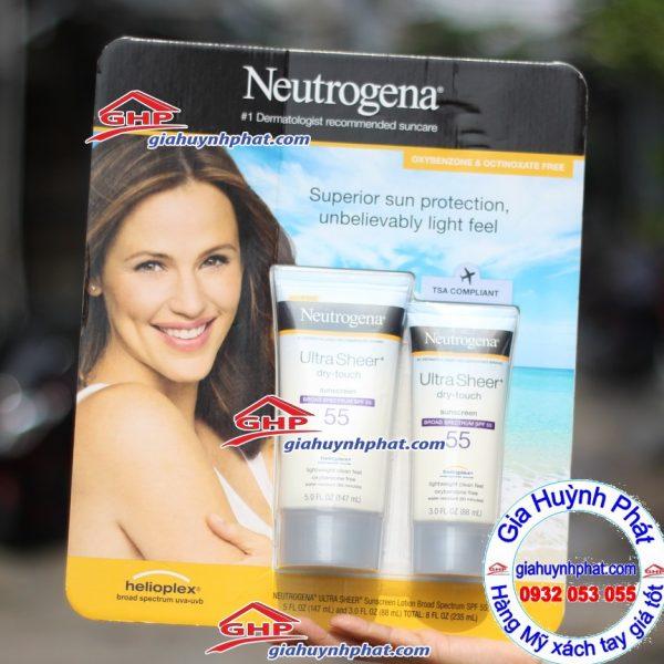 Thành phần kem chống nắng Neutrogena 88ml giahuynhphat.com