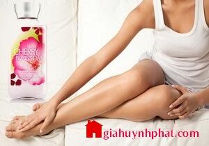 Sữa dưỡng thể ban đêm Cherry Blossom Bath and Body Works lotion của mỹ giahuynhphat.com
