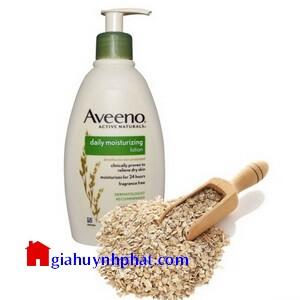 Sữa dưỡng thể làm ẩm da với tinh chất yến mạch Aveeno Lotion 354ml giahuynhphat.com