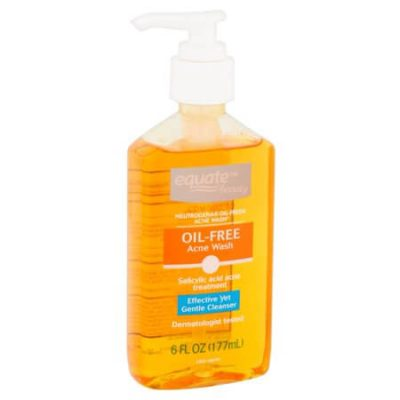 Sữa rửa mặt dạng gel Equate oil free acne wash dành cho da mụn giahuynhphat.com 2