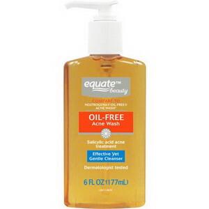 Sữa rửa mặt dạng gel Equate oil free acne wash dành cho da mụn